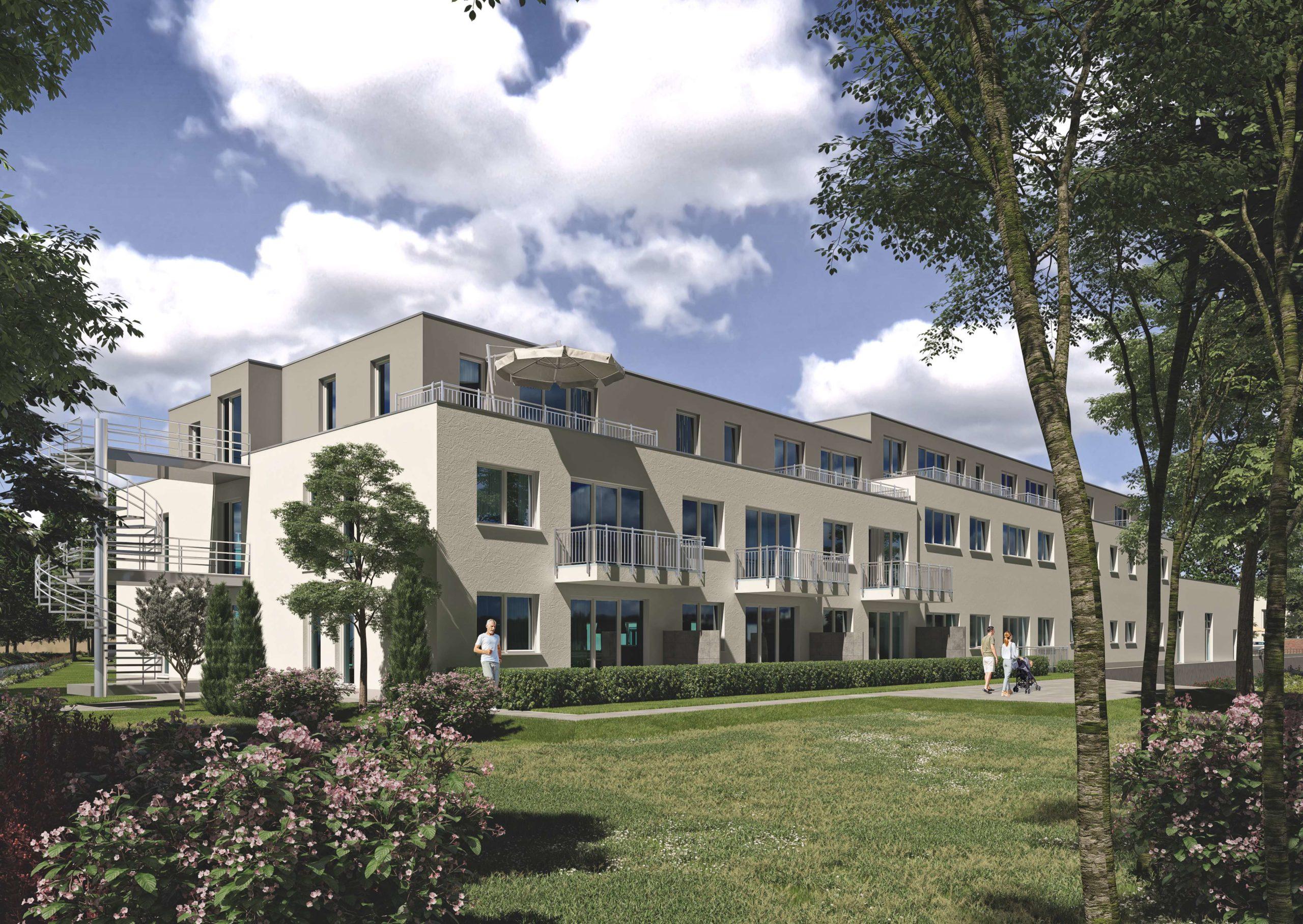 Sicher umsorgt wohnen. 2- bis 3-Raum-Wohnungen in Düren-Mariaweiler